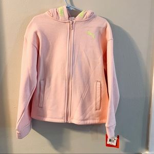 Puma Kid's Zip-Up Hoodie size Small